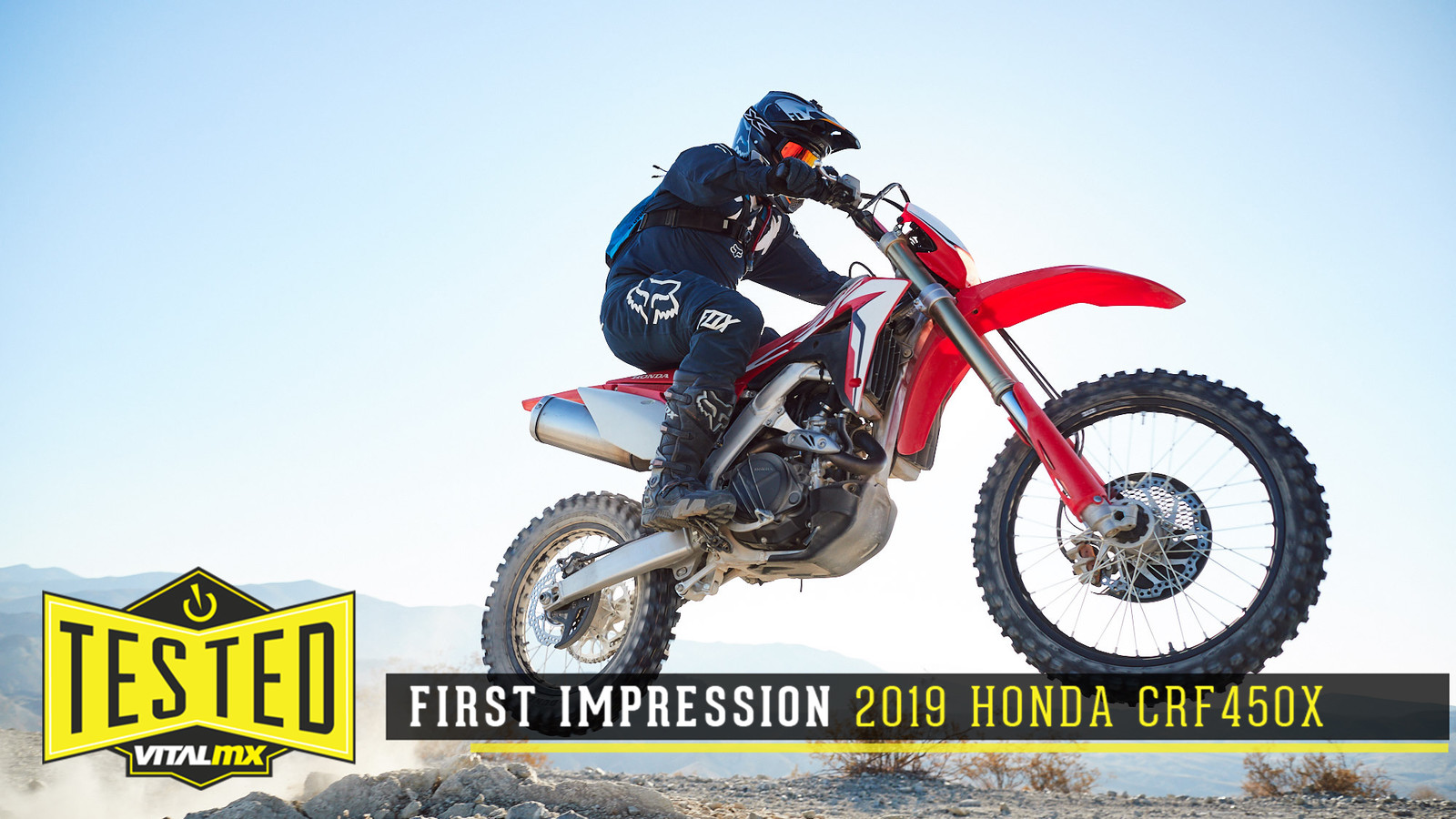First Impression: 2019 Honda CRF450X