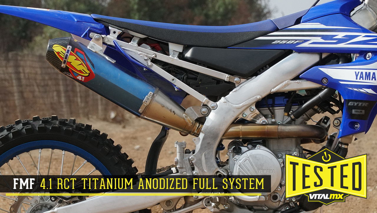 Tested: FMF Factory 4.1 RCT Titanium Anodized Full System