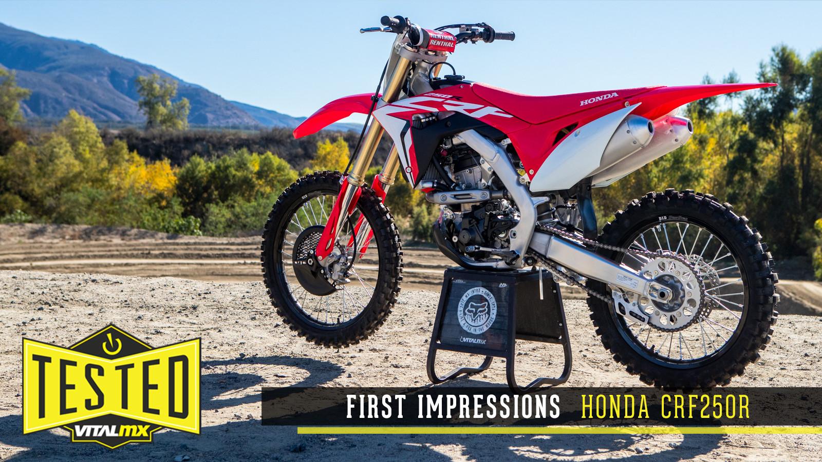 First Impressions: 2019 Honda CRF250R