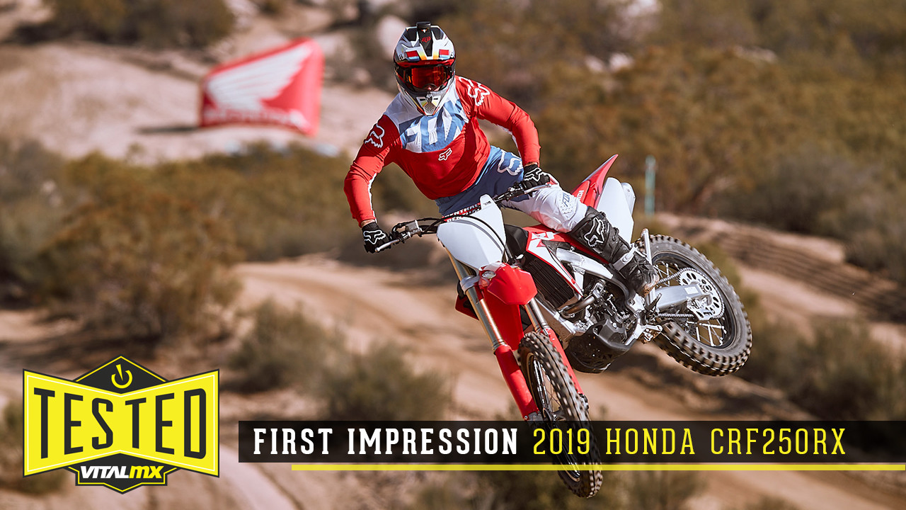 First Impression: 2019 Honda CRF250RX