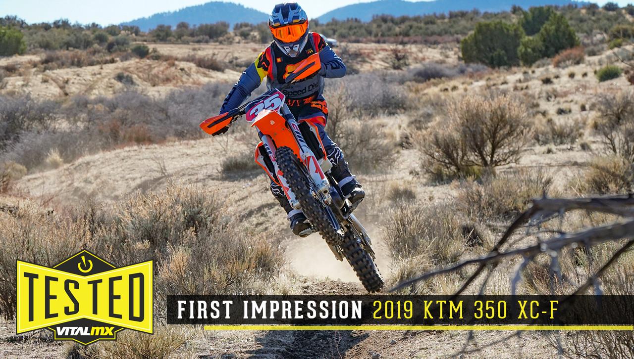 First Impression: 2019 KTM 350 XC-F