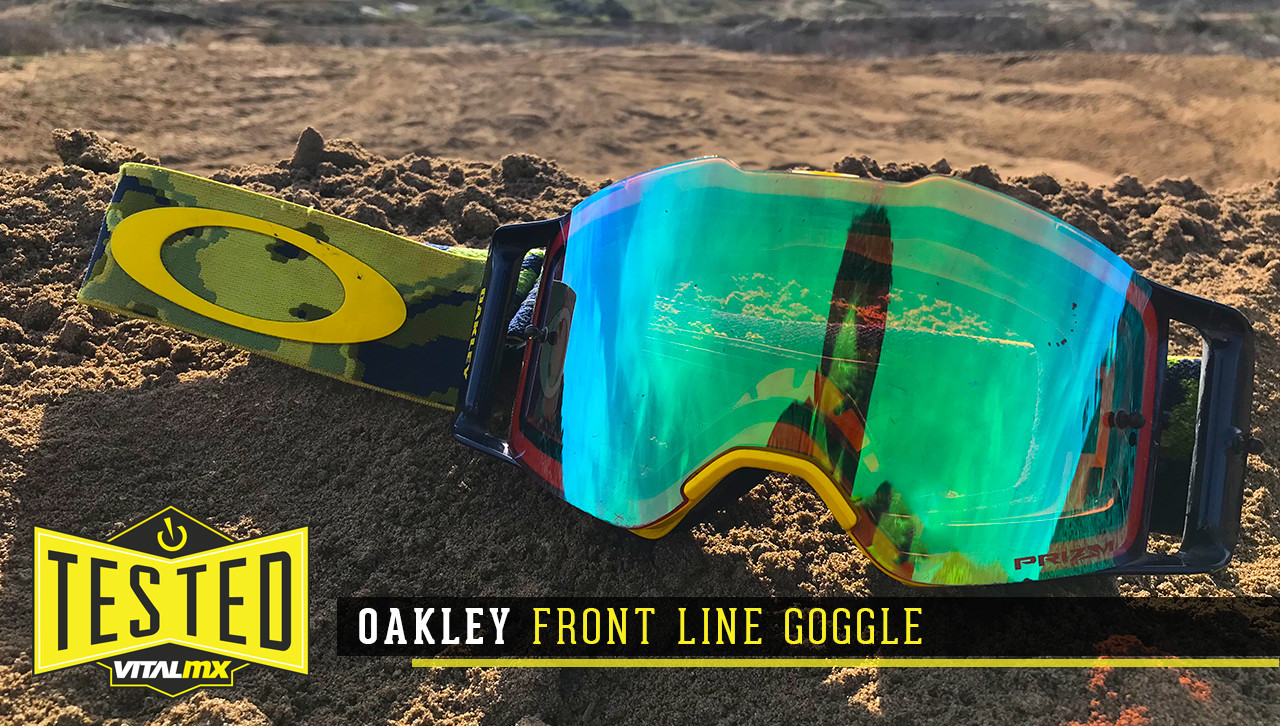 Tested: Oakley Front Line Goggle