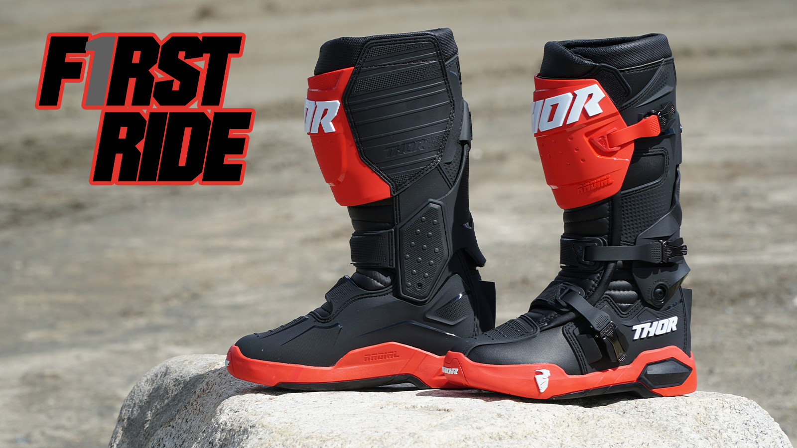 First Ride: Thor Radial Boots