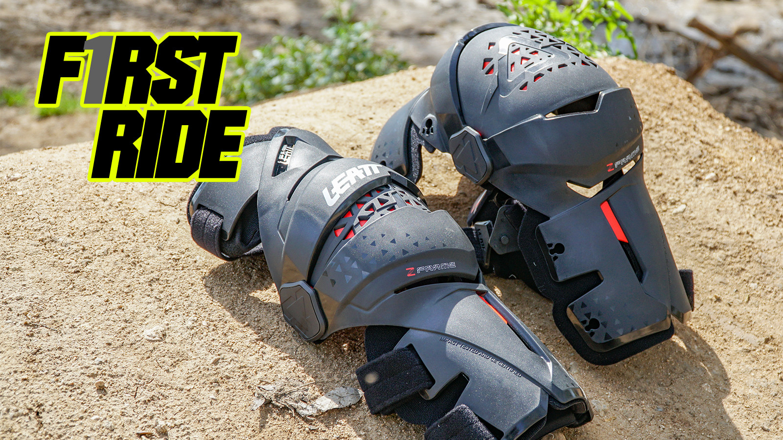 First Ride: Leatt Z-Frame Knee Brace