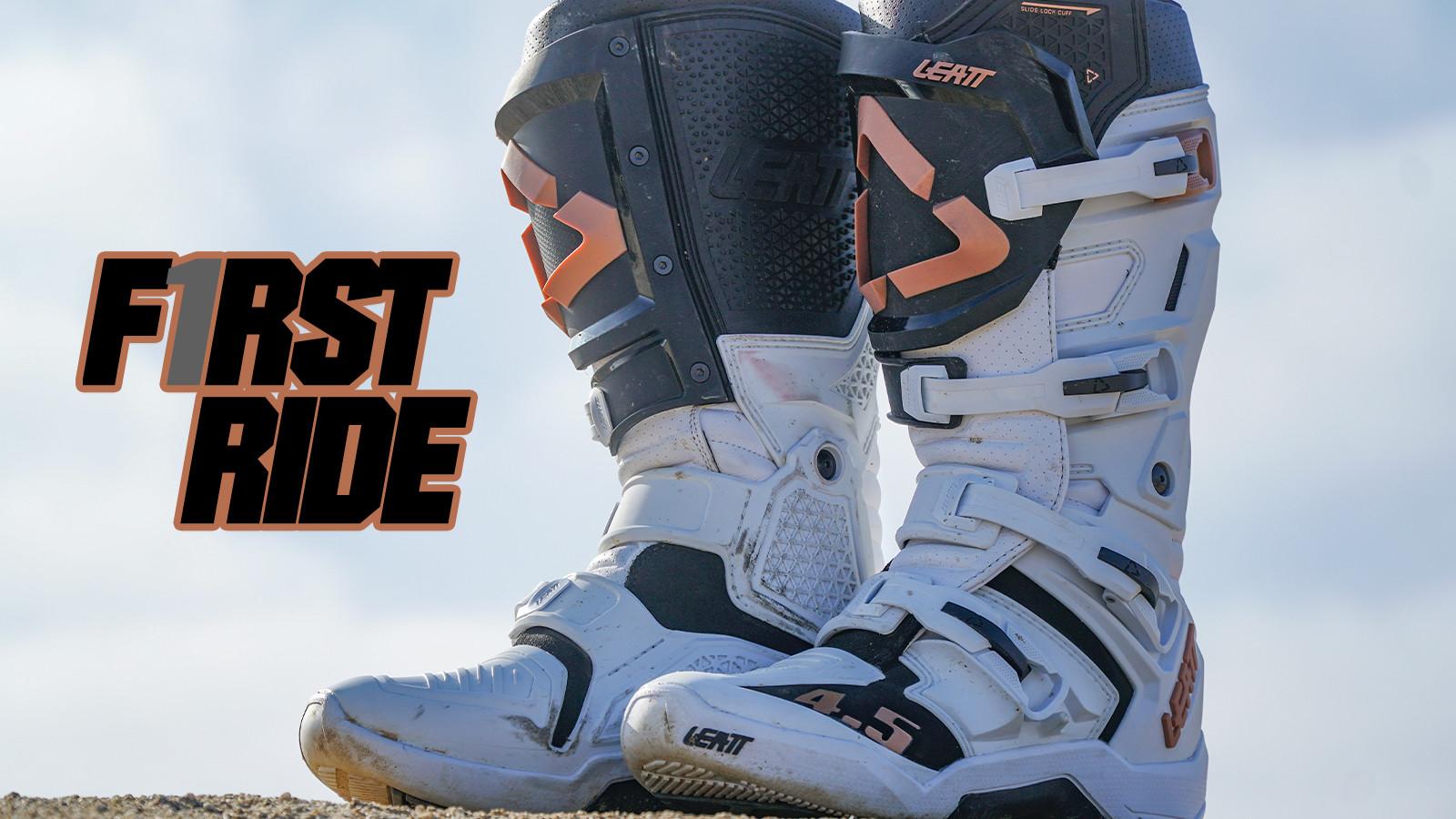 First Ride: Leatt 4.5 Boot