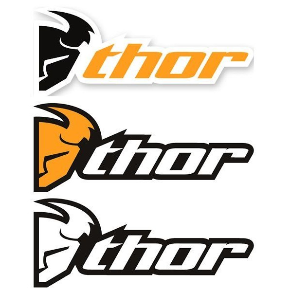thor logo decals 3 pack reviews comparisons specs motocross rh vitalmx com thor mx logo vector thor mx logo png