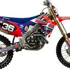 N-Style 2012 N Style Troy Lee Designs Graphics Kit Honda