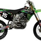 N-Style 2012 N Style Pro Circuit Team Graphics Kit Kawasaki