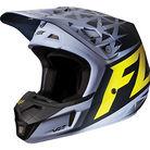 Fox Racing V2 Given Helmet 2014 Grey/Yellow