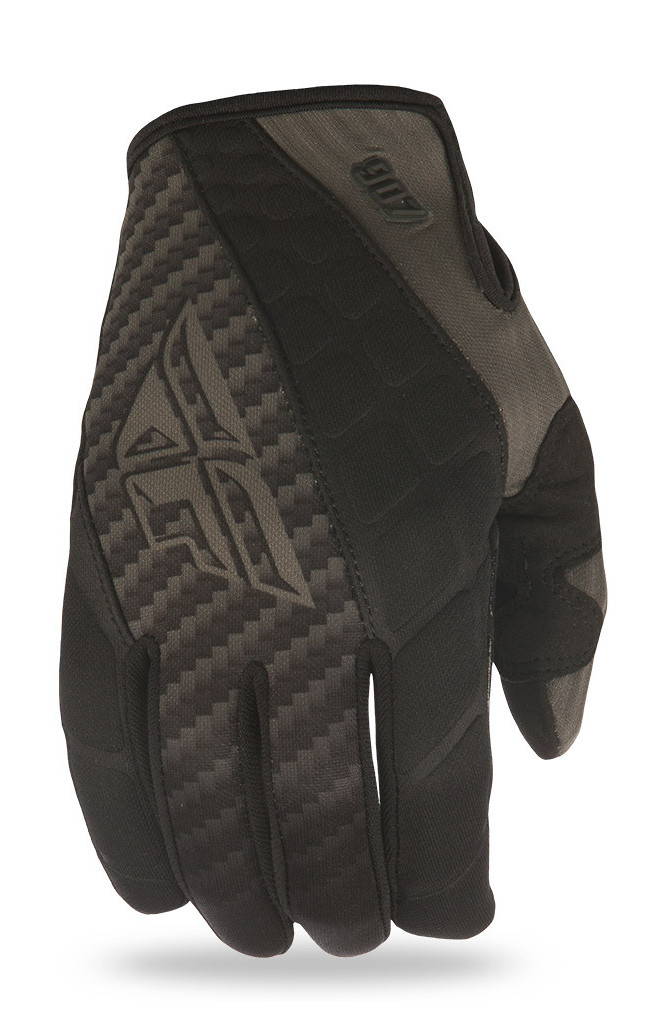 Fly Racing 907 MX Cold Weather Gloves  Fly Racing 907 MX Cold Weather Gloves Black and Gray
