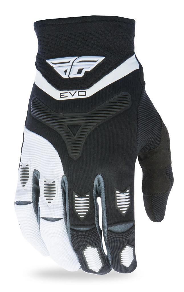 Fly Racing Evolution Gloves  Black/White