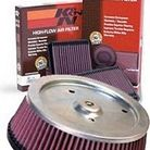K&N Yamaha Star Accessories Replacement Air Filter Kit