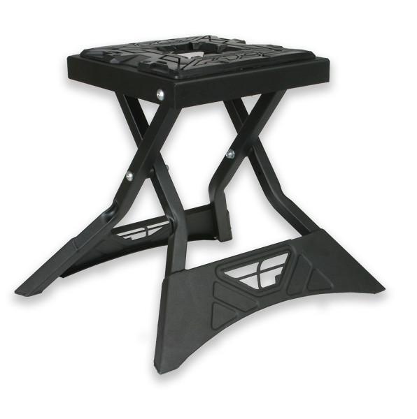 Fly Racing Folding MX Stand  Gun Metal