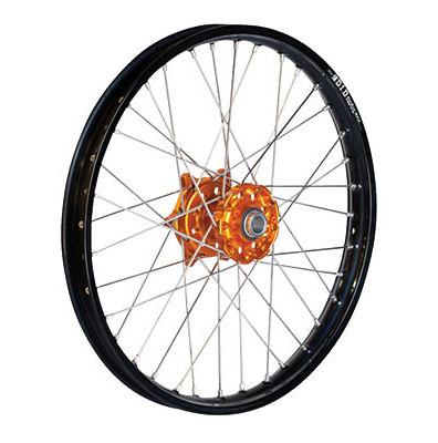 D.I.D. Complete Front Wheel Kit With Talon Billet Hub & Did Dirtstar Stx Wheel  dub_14_whe_com_fro_kit_bil_stx-blk_rim_ora_hub.jpg
