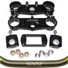 Applied Racing Factory R/S Triple Clamp Set With Pro Taper Evo Handlebar Combo