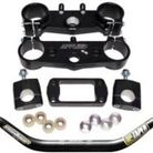 Applied Racing Factory R/S Triple Clamp Set With Pro Taper Contour Handlebar Combo