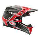 Bell Moto 9 Helmet 2014 Carbon Pinned Red