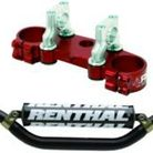 RG3 Rg3 Top Clamp With Renthal Twinwall Handlebar Combo