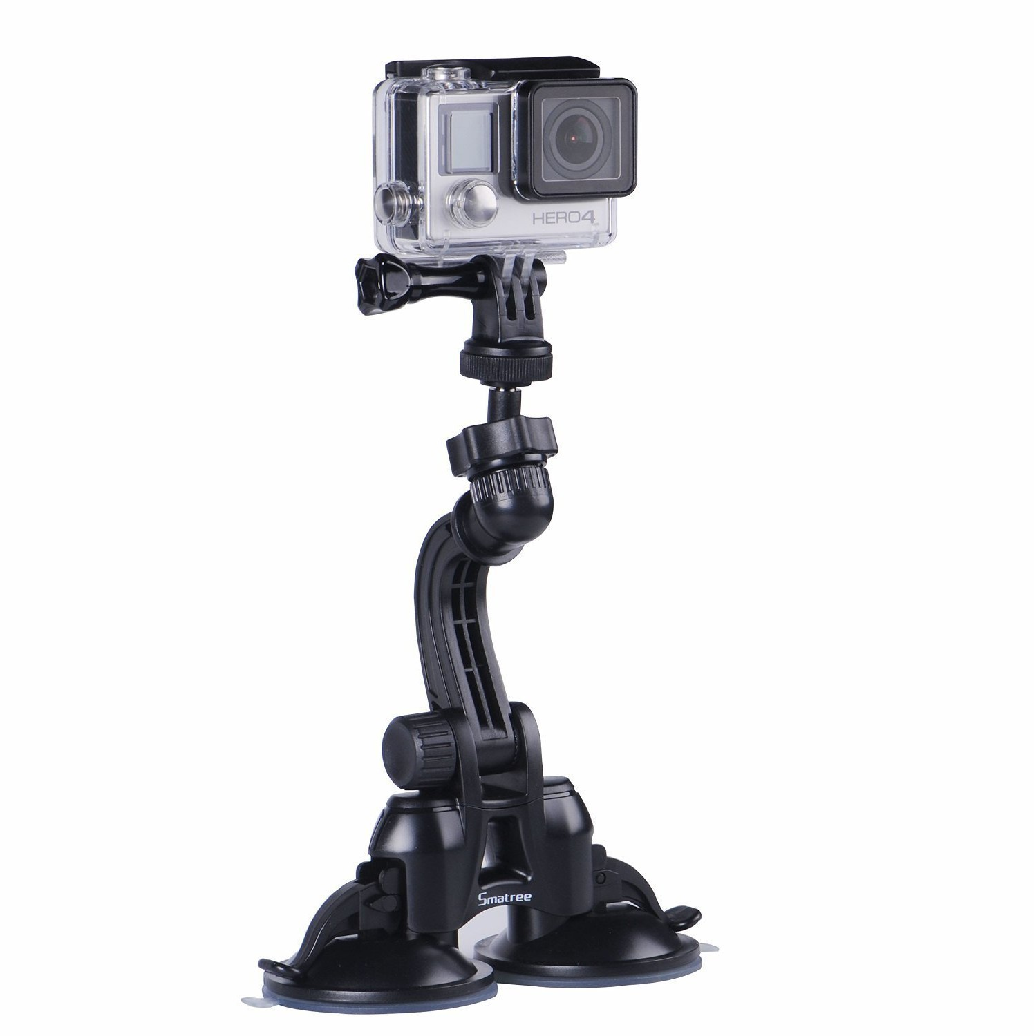 Smatree Double Suction Cup Mount for Gopro 6193dp3I73L._SL1500_