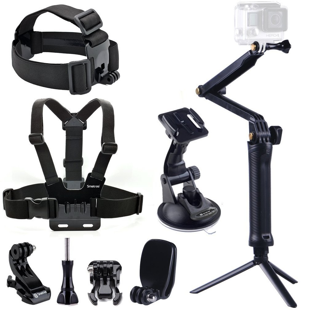 Smatree 9 in 1 Gopro Accessories  61ZBFl1xnkL._SL1008_