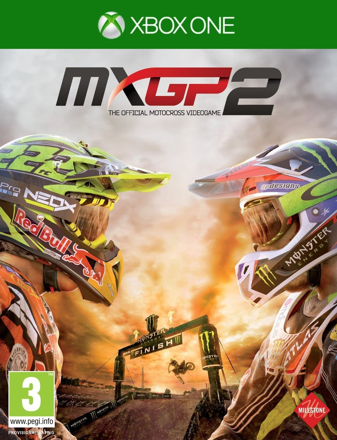 MXGP 2 - Video Game  81e9bJW7alL