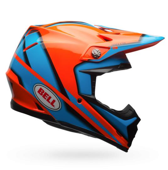 Bell Moto-9 Spark Orange