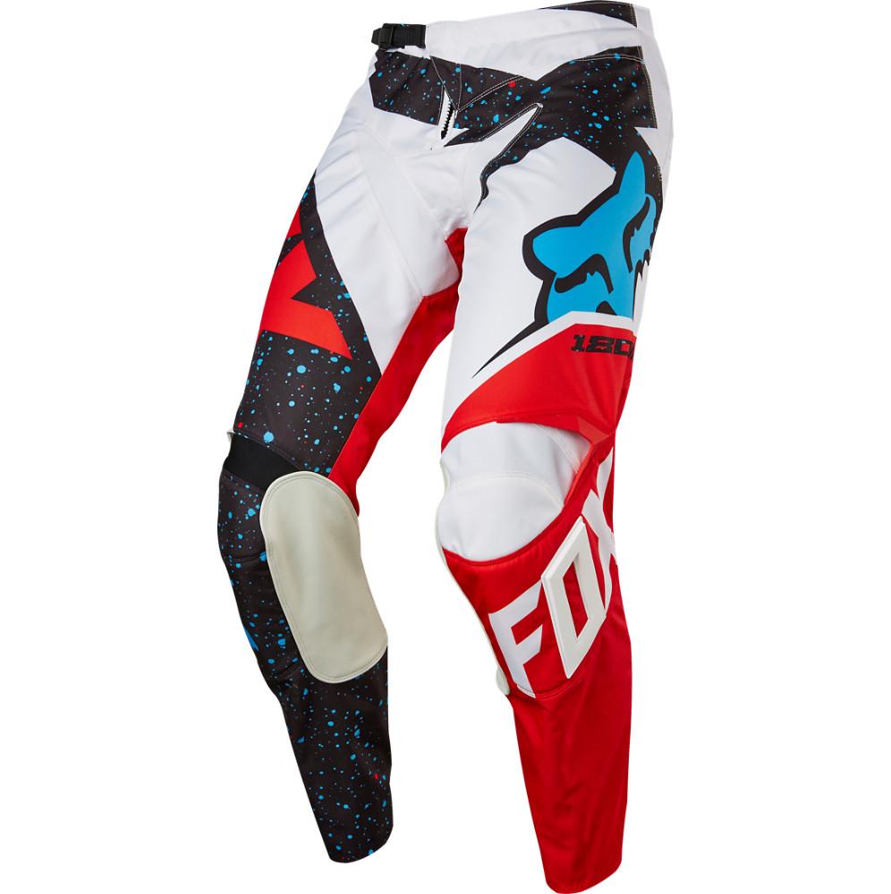 Fox Racing 180 Nirv Pants Fox Racing 180 Nirv Red and White