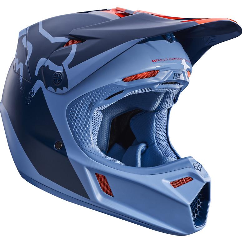 4ed01a31 Fox Racing V3 Helmet - Reviews, Comparisons, Specs - Motocross ...