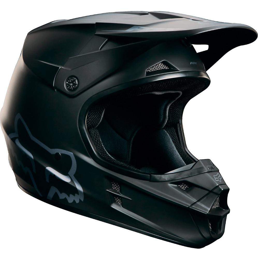 Fox Racing V1 Helmet Fox Racing V1 Matte Black