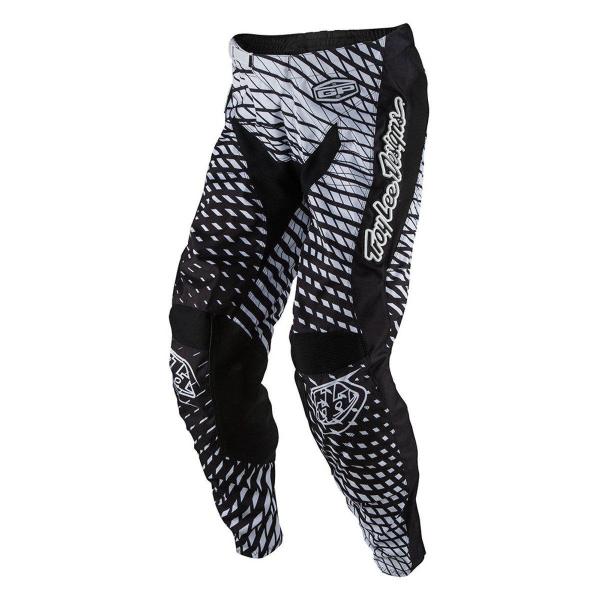 Troy Lee Designs GP Tremor Pants Troy Lee Designs GP Tremor Black and White