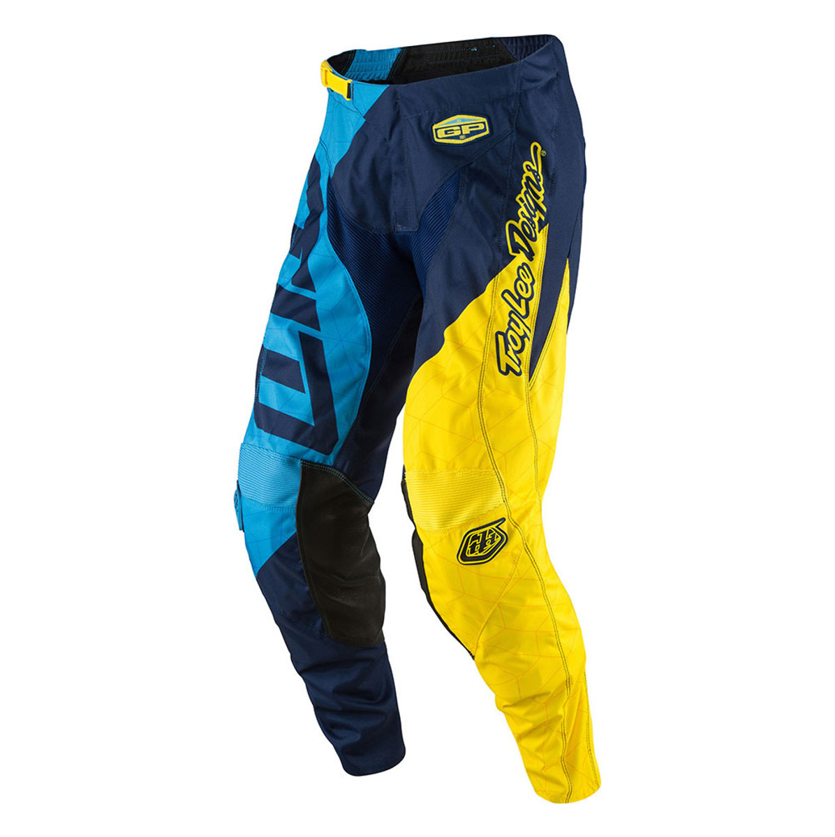 Troy Lee Designs GP Quest Pants Troy Lee Designs GP Quest Blue and Yellow
