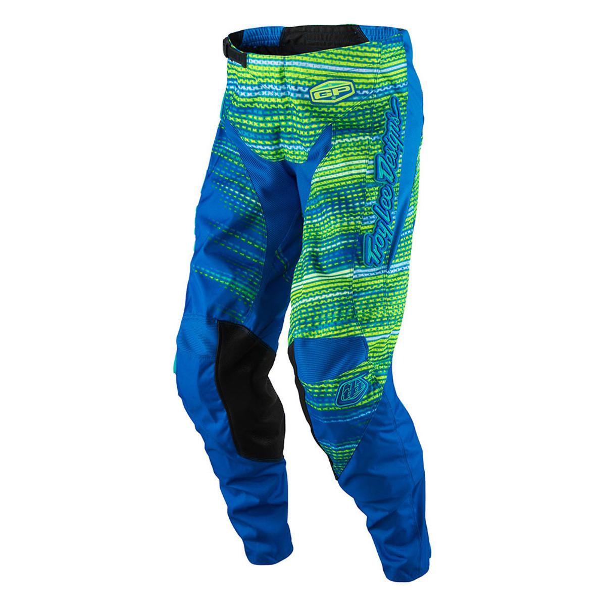 Troy Lee Designs GP Electro Pants Troy Lee Designs GP Electro Blue