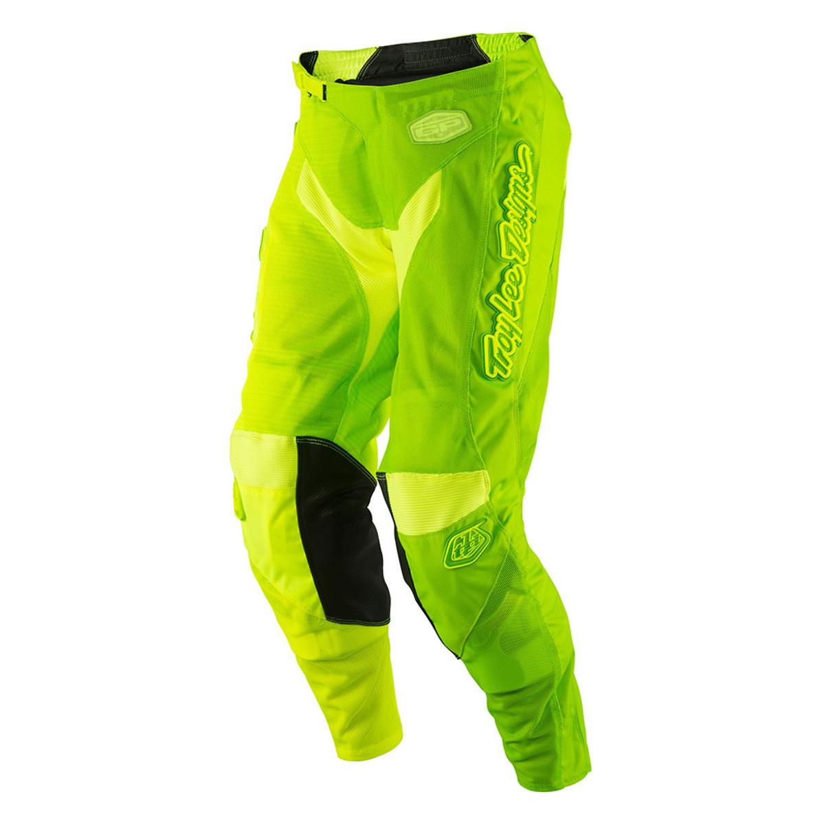 Troy Lee Designs GP Air 50/50 Pants Troy Lee Designs GP Air 50/50 Green and Yellow