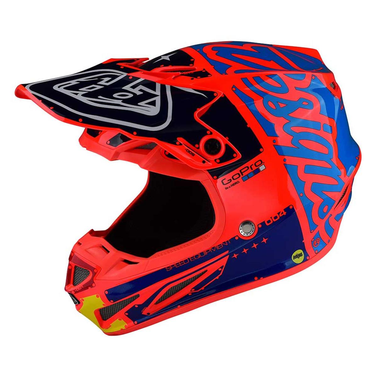 Troy Lee Designs SE4 Composite Helmet Orange