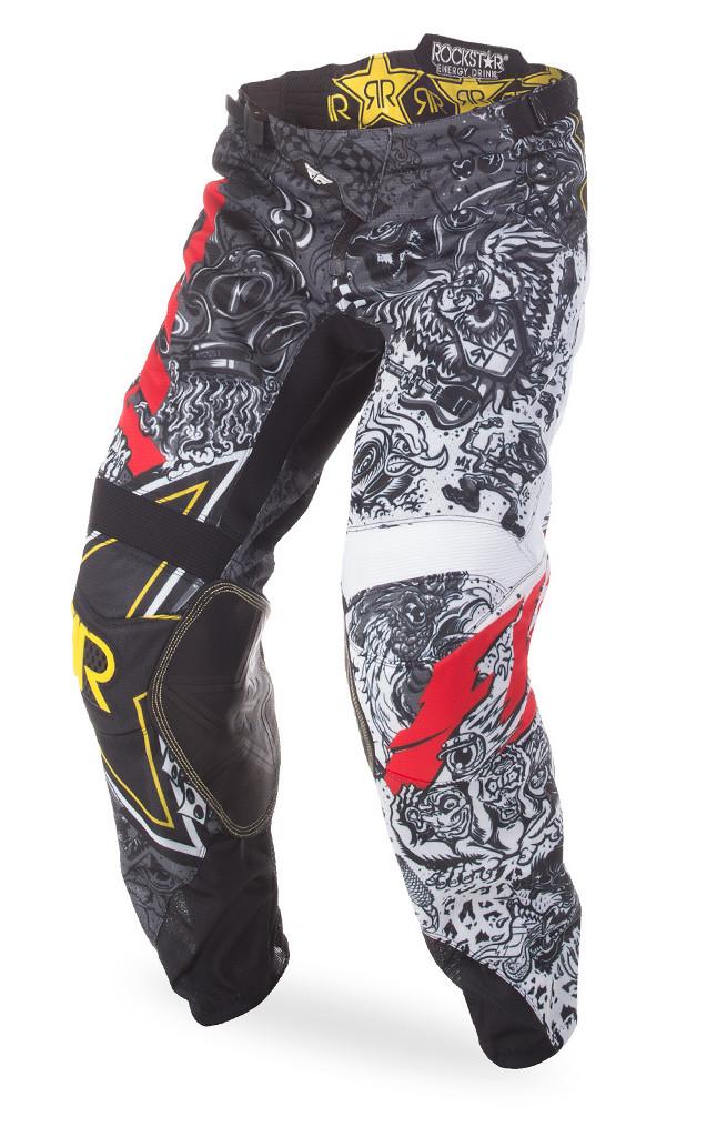 Motocross Dirtbike Offroad 2019.5 Fly Racing Kinetic Mesh Rockstar Pants