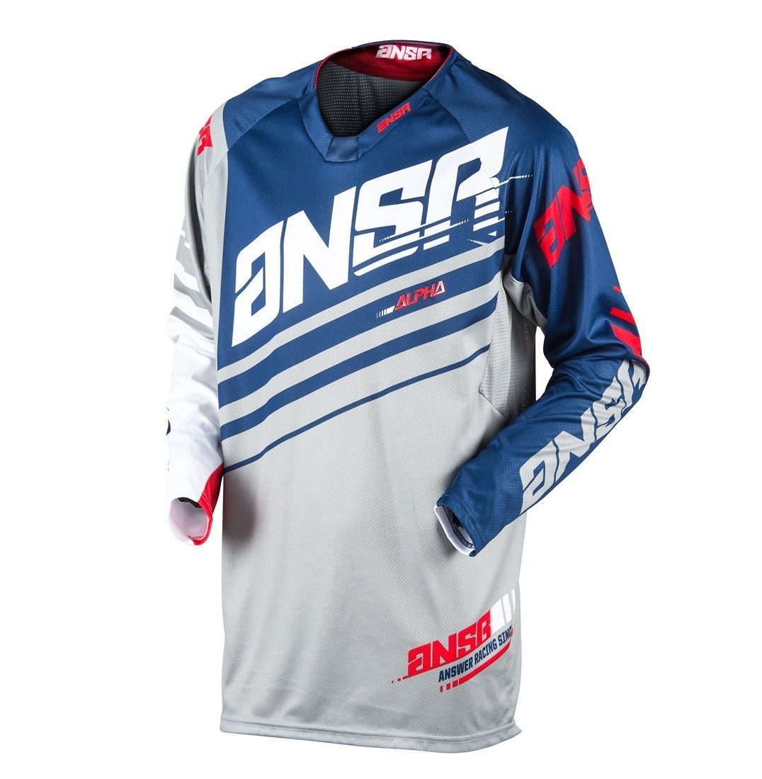 Answer Racing Alpha Jersey & Pant  Answer Racing Alpha Navy and Blue