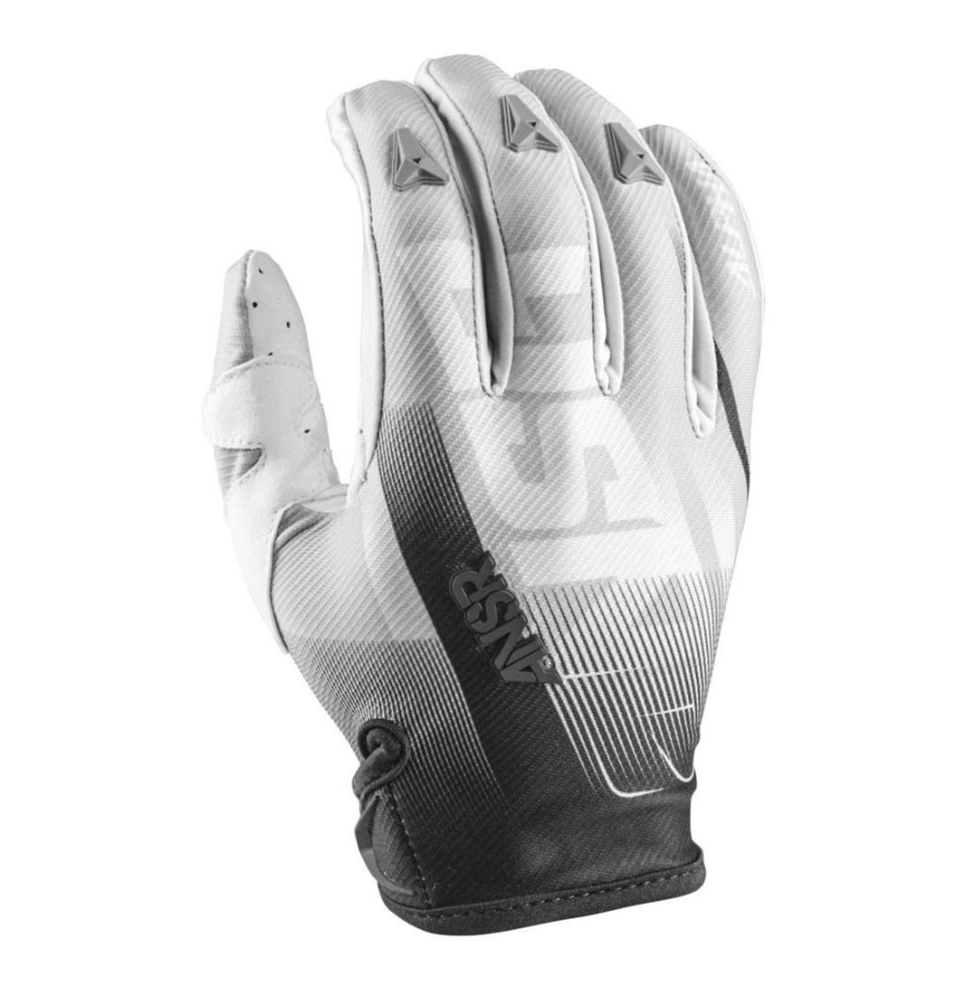Answer Racing Alpha Air Gloves Answer Racing Alpha Air White and Black