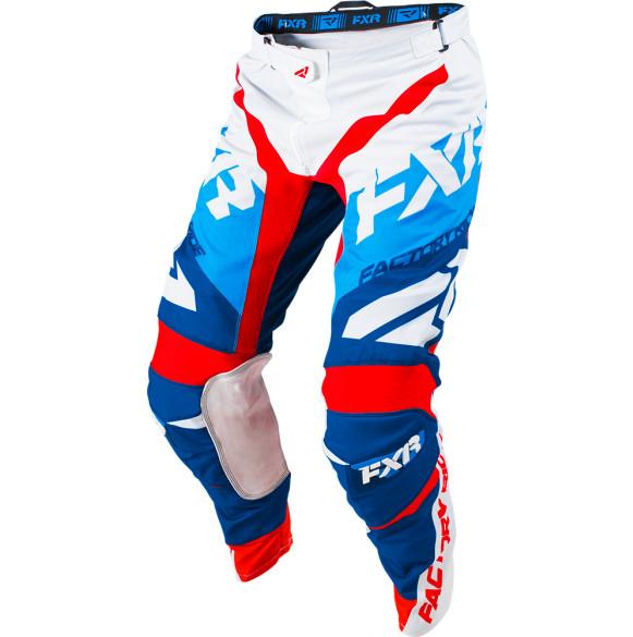 FXR Revo Pants FXR Revo White, Navy, Blue, and Red