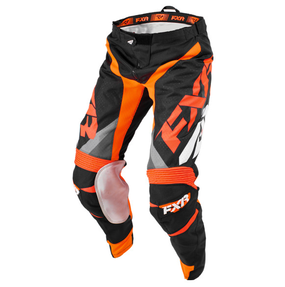 FXR Mission Gray and Orange