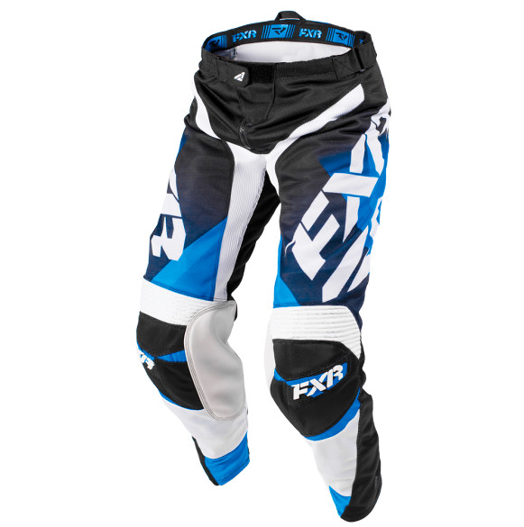 FXR Mission Air Pants FXR Mission Air Blue and White