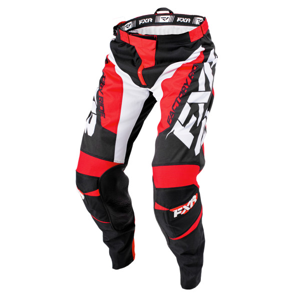 FXR Clutch Pants FXR Clutch Red and Black