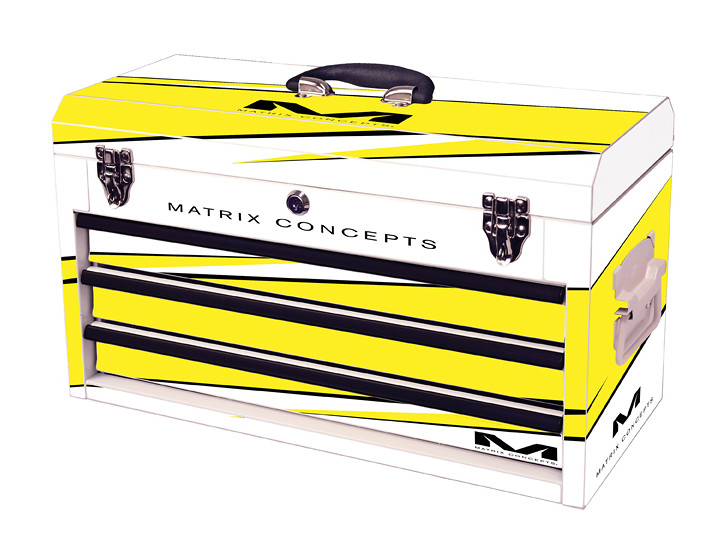 Matrix Concepts M80 Race Series Tool Box 3 Drawer