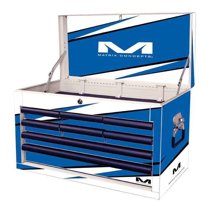 M80 8 Drawer Bolt Blue 803