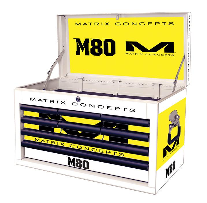 M80 8 Drawer Clash Yellow 814
