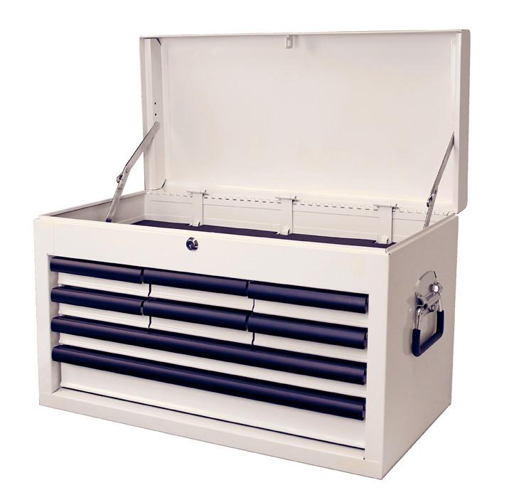 M80 8 Drawer Plain White