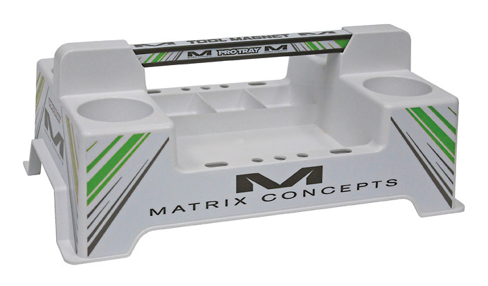 Matrix Concepts M21 Protray  M21 Pro Tray White Green
