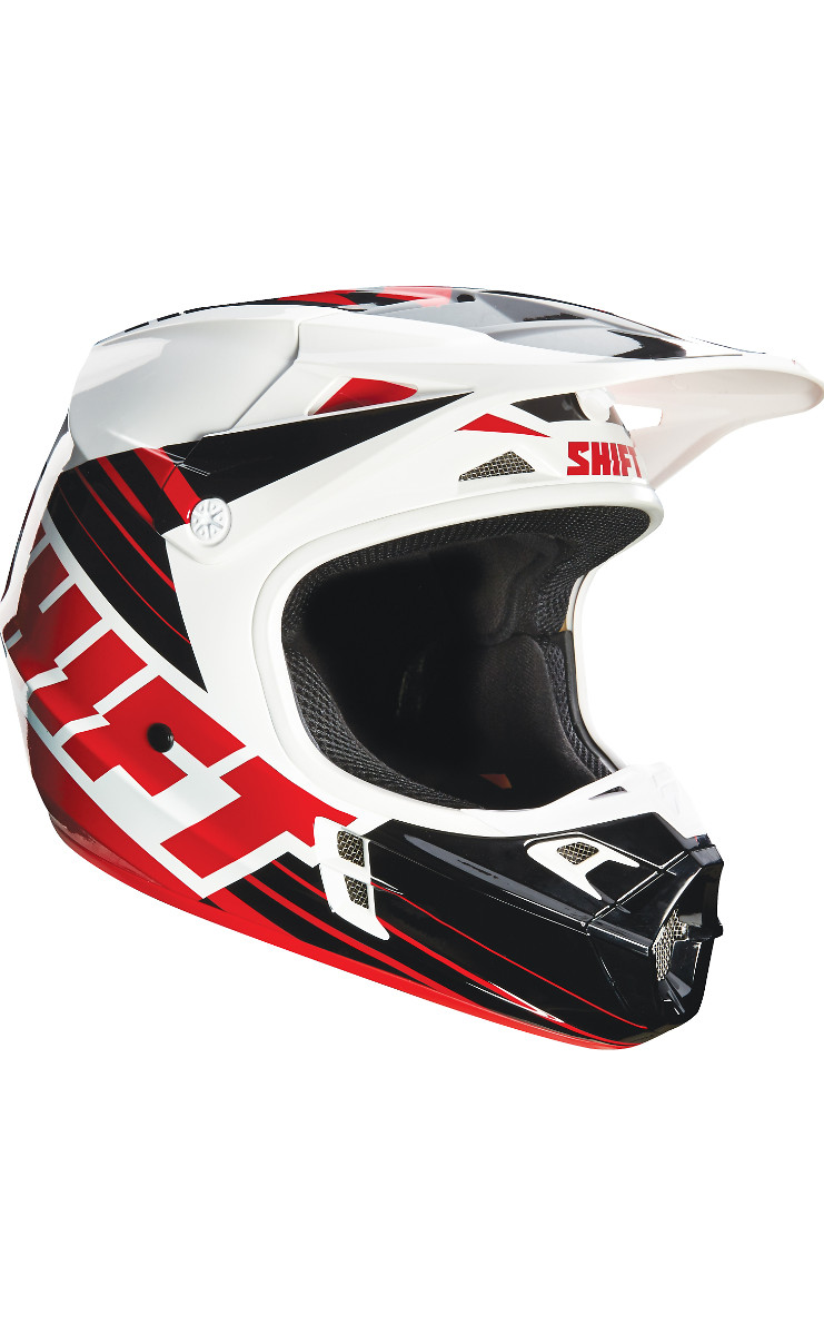 Shift MX Assault Race White