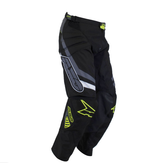 AXO Trans-AM Pants AXO Trans-AM Black and Yellow