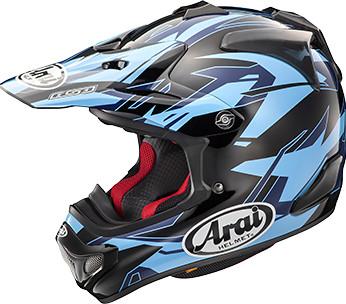 Arai VX-Pro4 Black and Blue