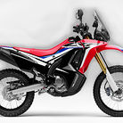 2017 Honda CRF250L Standard and Rally